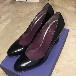 Stuart Weitzman Black Patent Heels